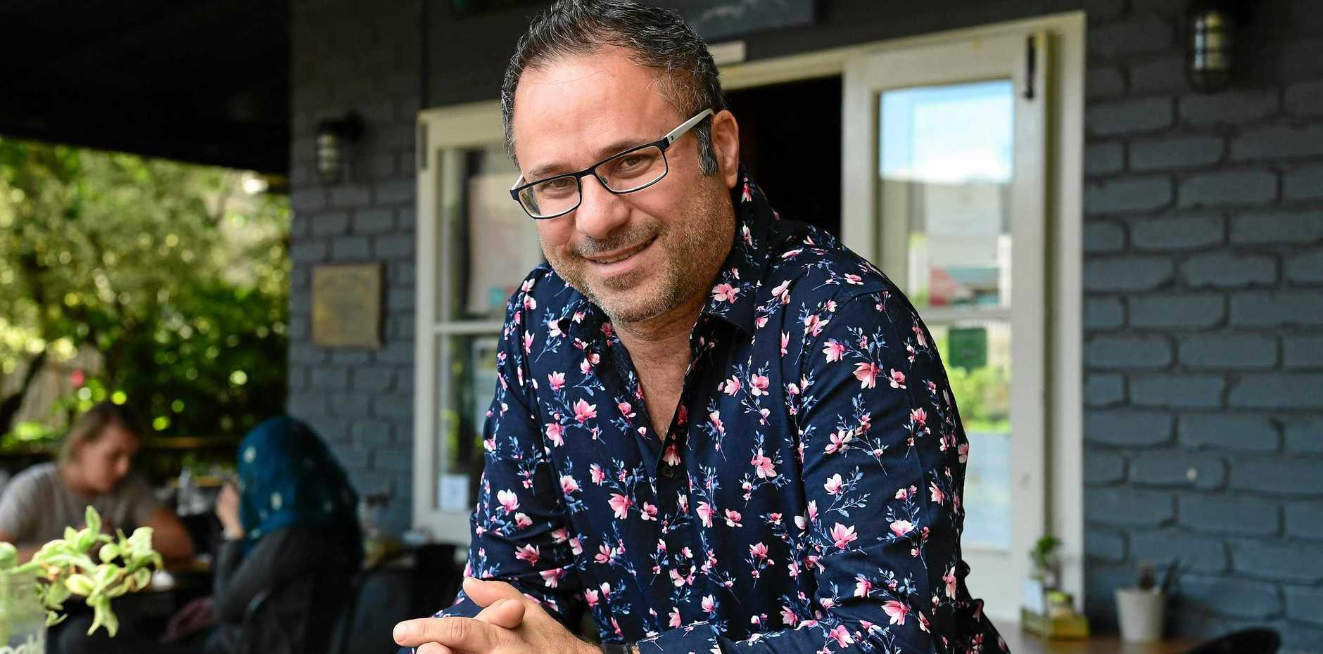 TASTY TREAT: The Windmill Cafe's Joey Caruana is excited by the new menu the popular venue is serving up.