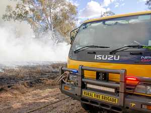 12 fire crews needed to control large fire in rural paddock
