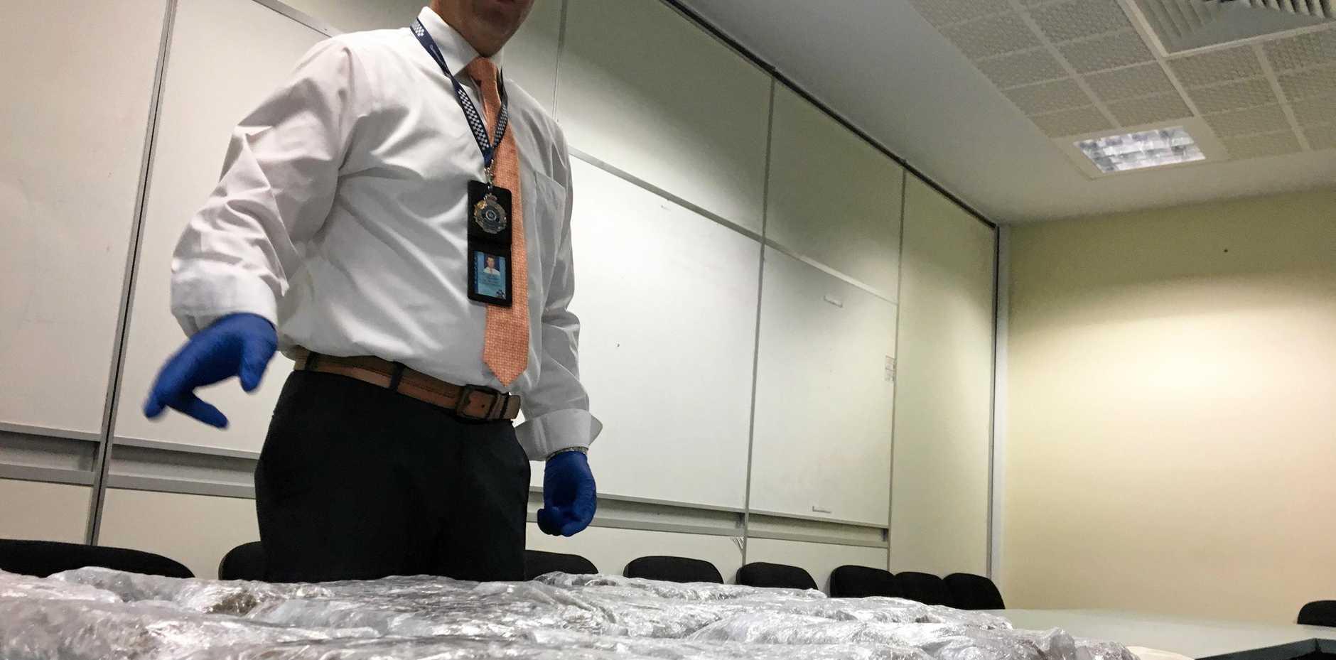 Rockhampton Police seize huge amount of drugs in an RBT.