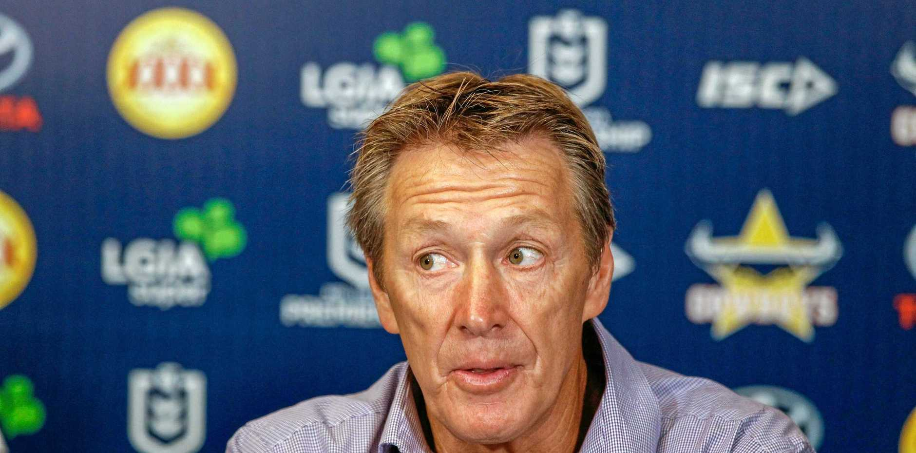 Melbourne Storm coach Craig Bellamy has also rejected criticism of the Storm's playing style.  Picture: Michael Chambers/AAP