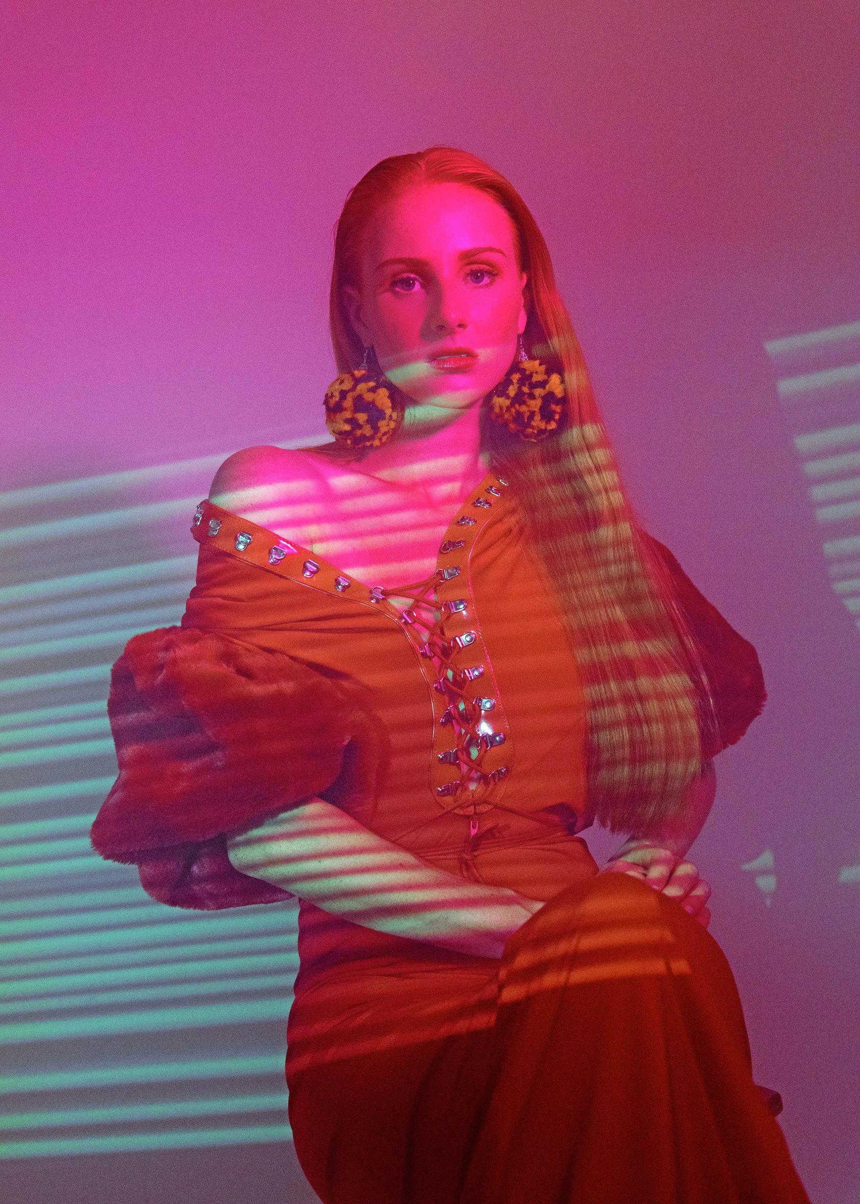 Australian artist Vera Blue.