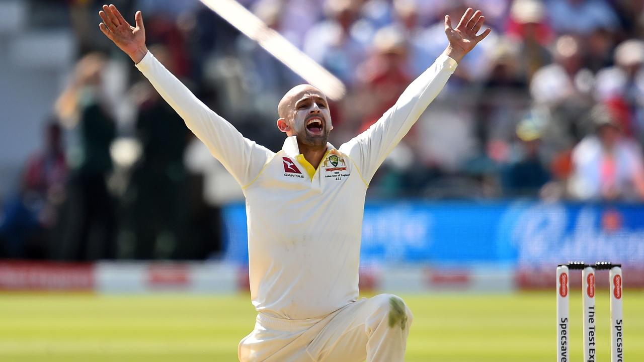 Nathan Lyon's mouth might come back to bite him.