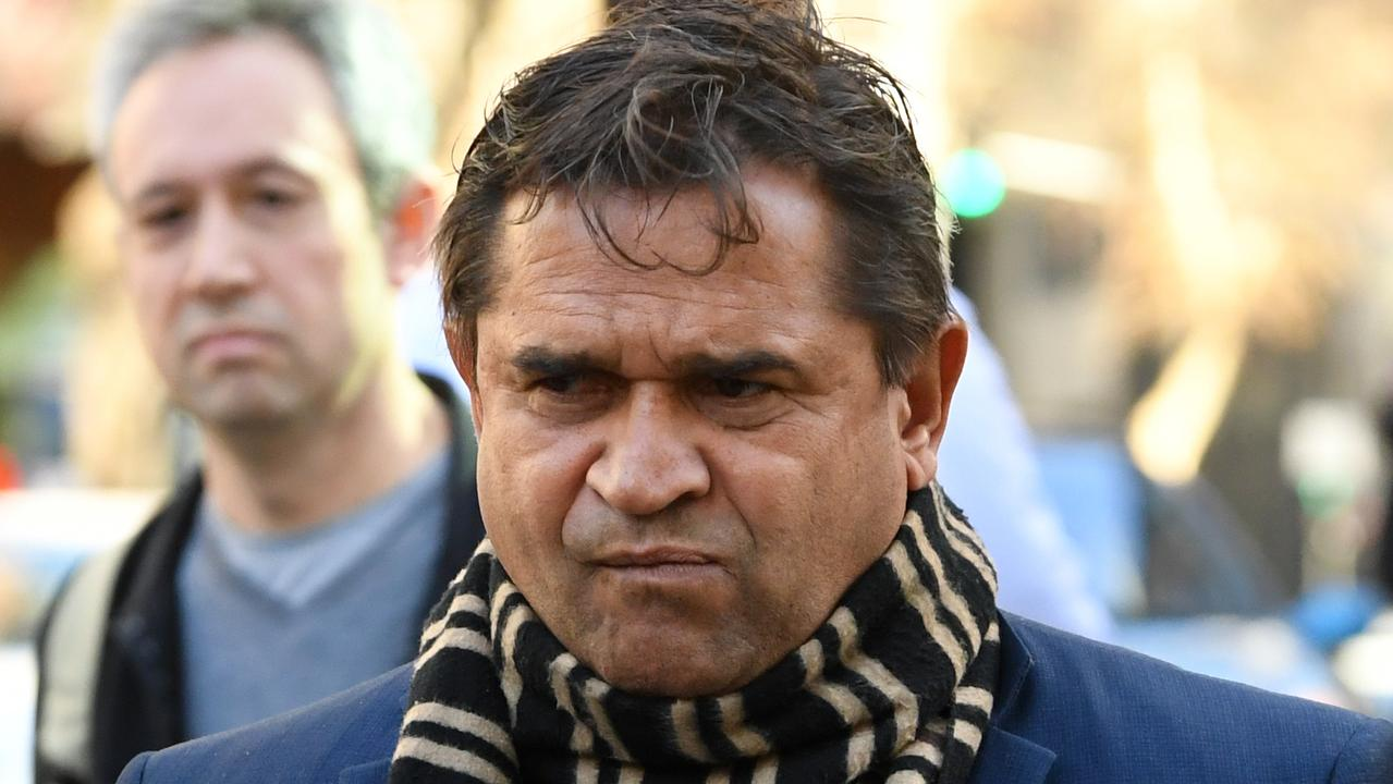 Winmar threw multiple punches at his taxi driver victim. Picture: AAP
