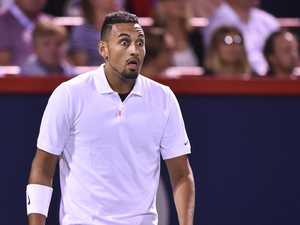Tennis throws the book at Kyrgios