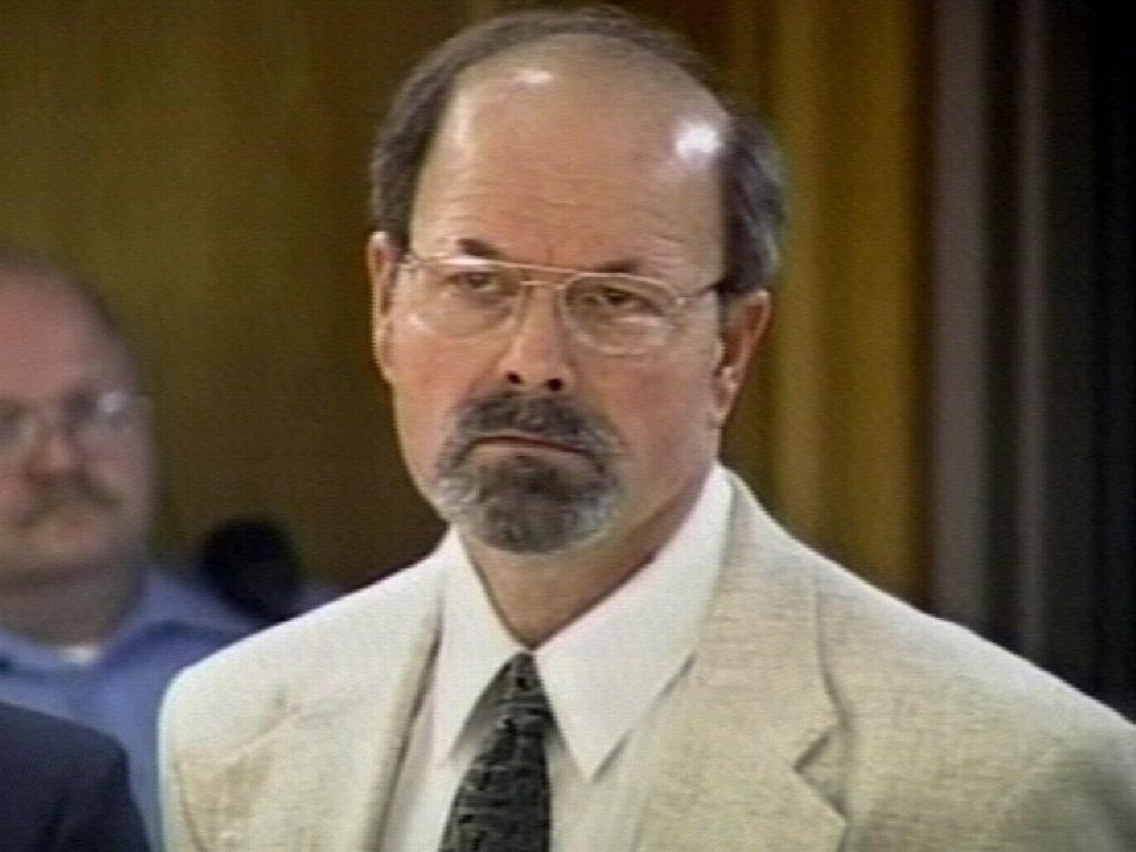 Dennis Rader admitted killing 10 people in the Wichita area between 1974 and 1991. Picture: AP Photo/Court TV
