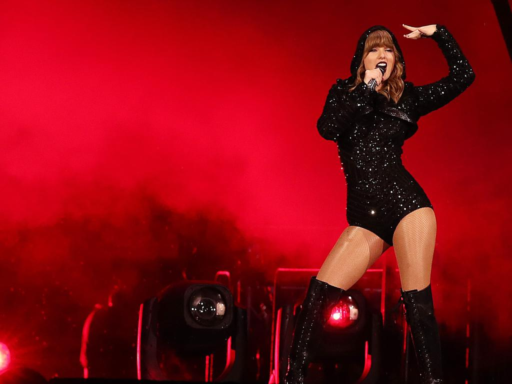 One of the most expensive tours in Australia last year was Taylor Swift's Reputation run. Picture: Getty Images