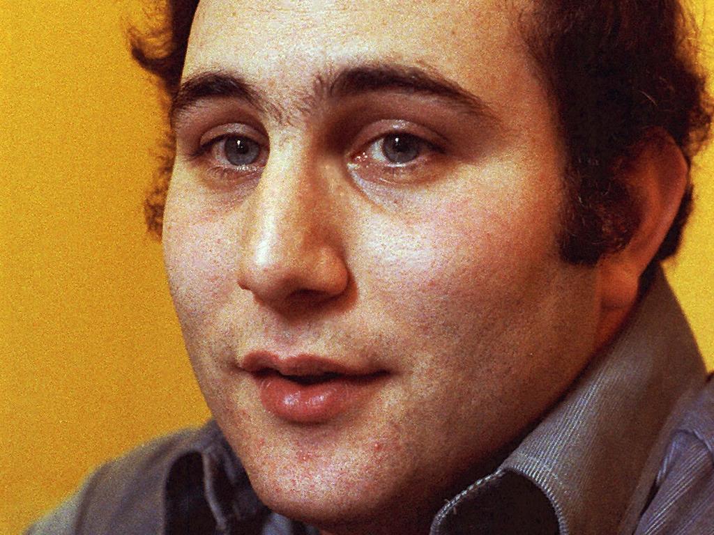 Notorious serial killer David Berkowitz, known as Son of Sam.