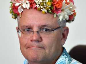 Morrison takes outlier climate position in Tuvalu