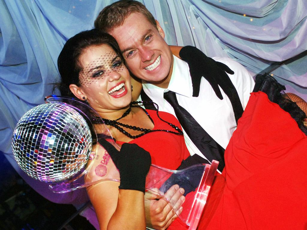 The TV personality won season four of Dancing with the Stars. Picture: Supplied