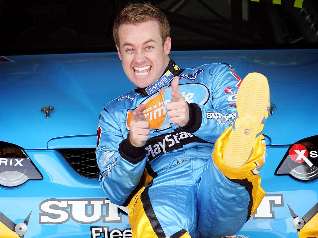 Denyer is a keen race car driver. Picture: Supplied