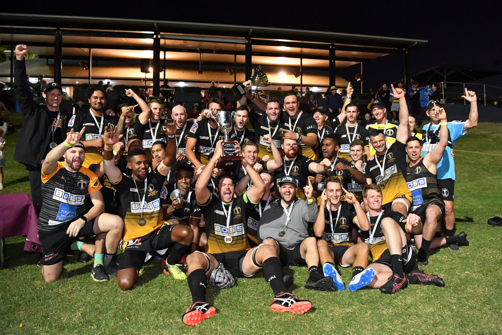 Caloundra were crowned Sunshine Coast Rugby Union A-Grade champions after downing USC Barbarians in the grand final on Saturday.