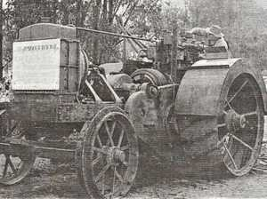 First tractor was the talk of the town