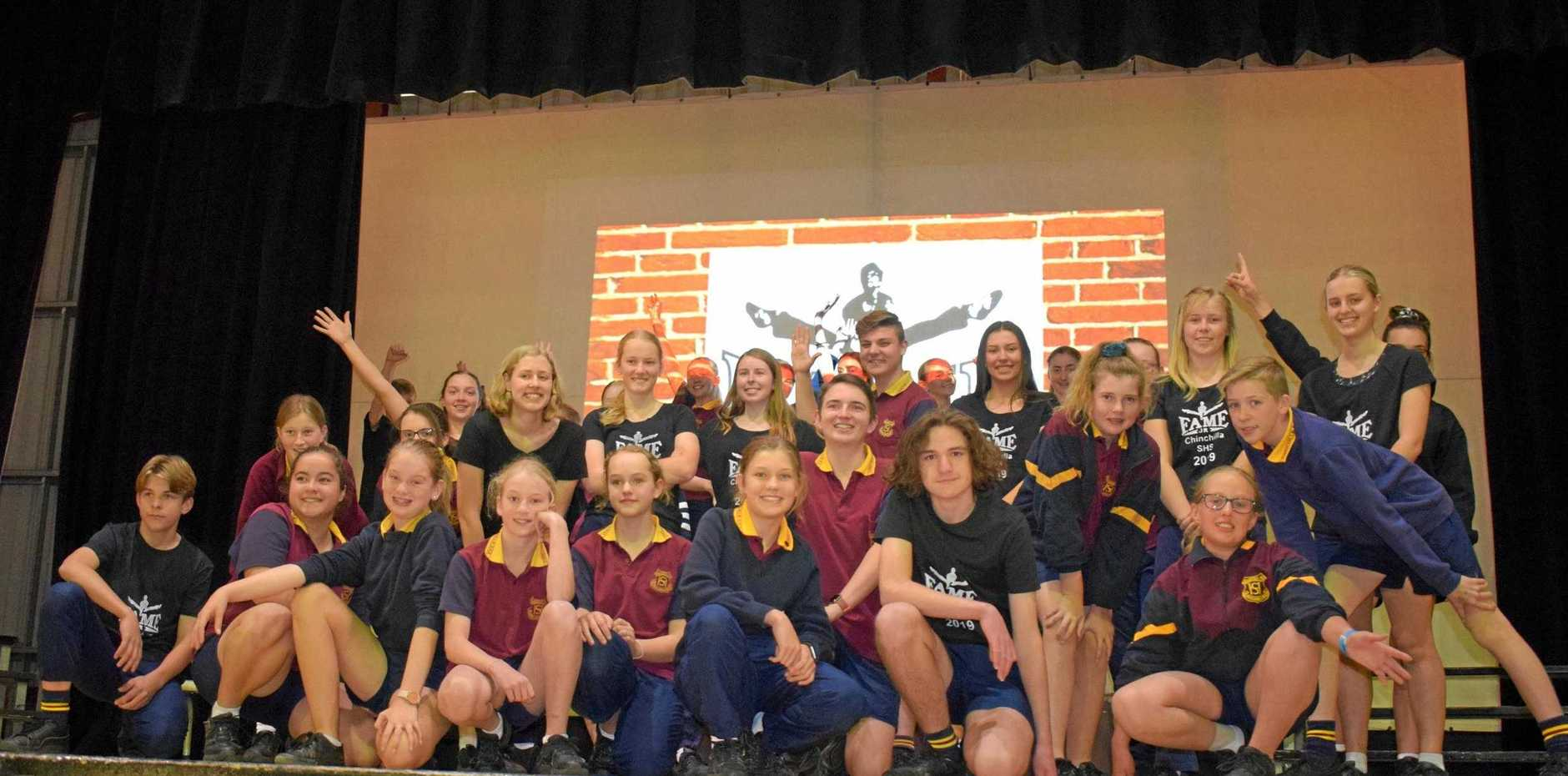 REMEMBER MY NAME: The students and teachers of Chinchilla State High School have been busy rehearsing ready to perform the hit musical