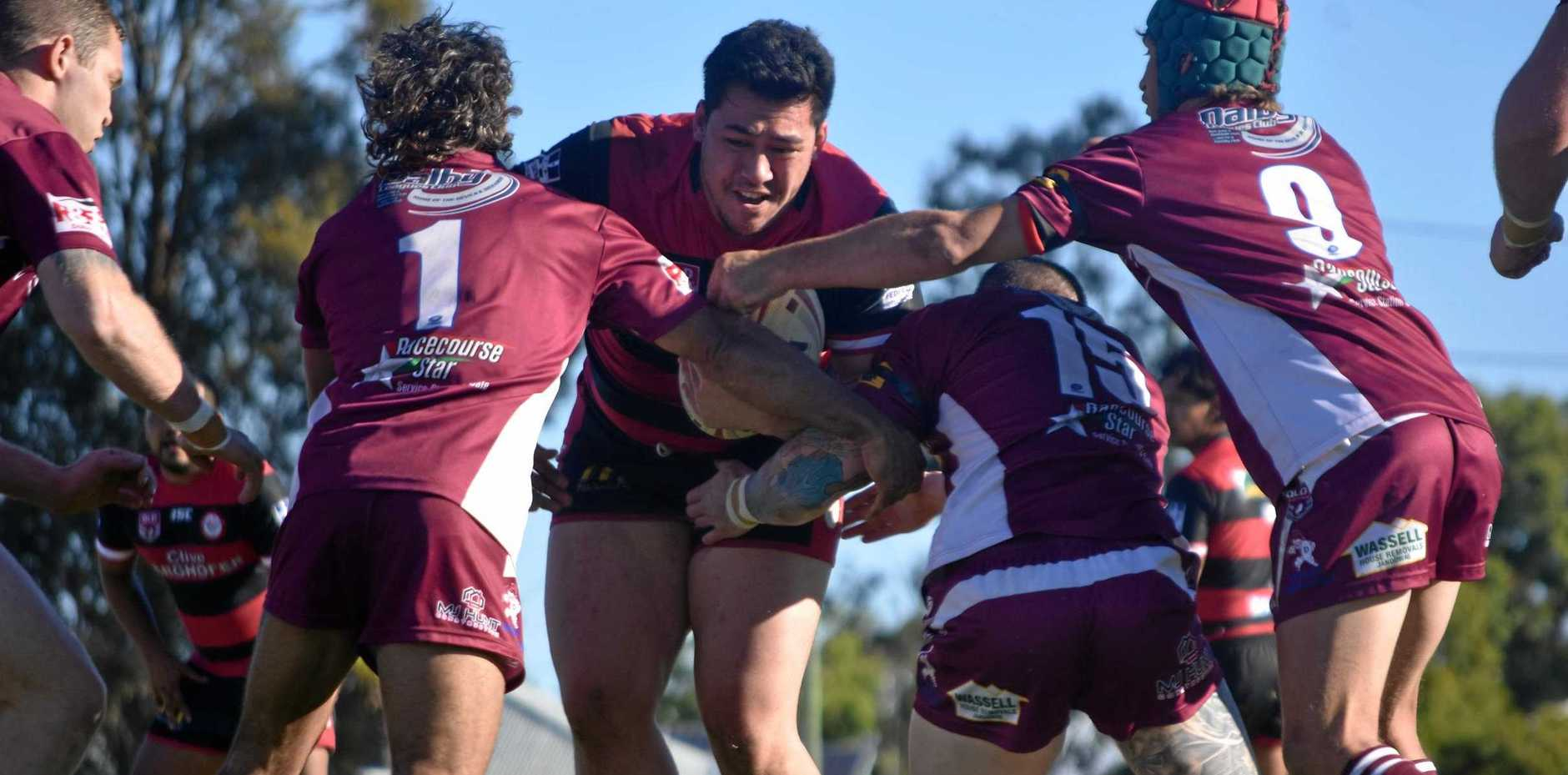 STAY STRONG: The Diehards will have to be on the top of their game this weekend as they take on Goondiwindi in the elimination final.