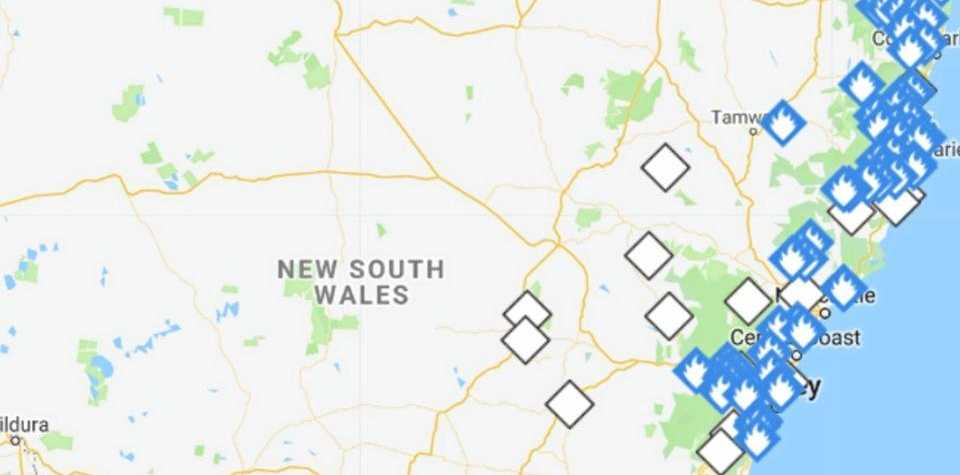 Bush fire season has now started in more than 20 local government areas across NSW.