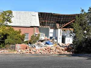 Demolition of old Coraki Hospital