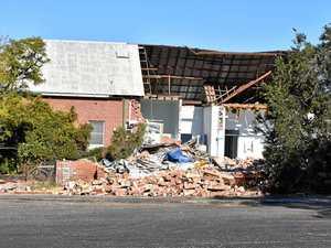 Demolition of old Coraki Hospital