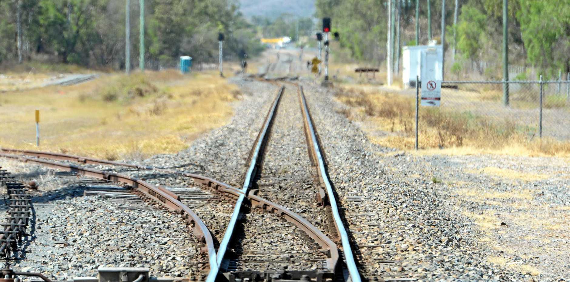 Railway lines in Rockhampton. Photo: Chris Ison / The Morning Bulletin