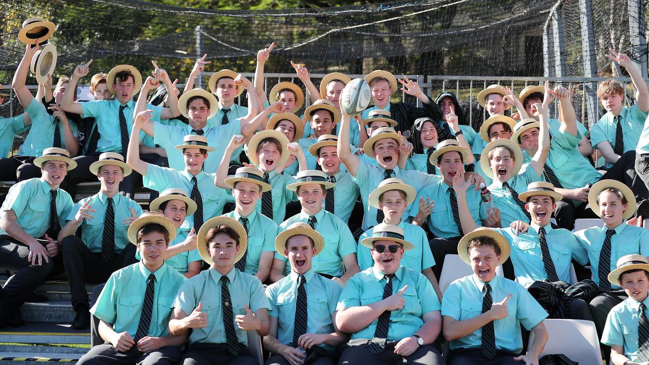 Brisbane Boys' College vs Ipswich Grammar School rugby at BBC, Brisbane 17th of August 2019. Picture: AAP/Josh Woning.