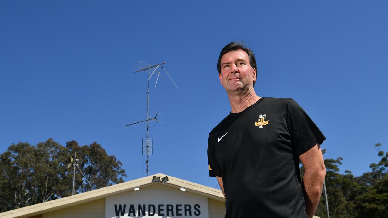 LEGEND: Buderim and Sunshine Coast Wanderers clubman Warren Crickmore. Picture: John McCutcheon