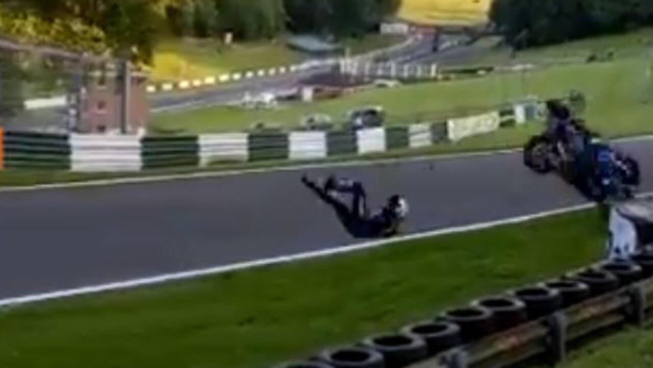Luke Mossey sent flying through the air