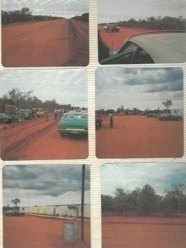 Images from the Carr family photo album include Thangoo station, where Desmond Carr was based before he vanished. Picture: Supplied