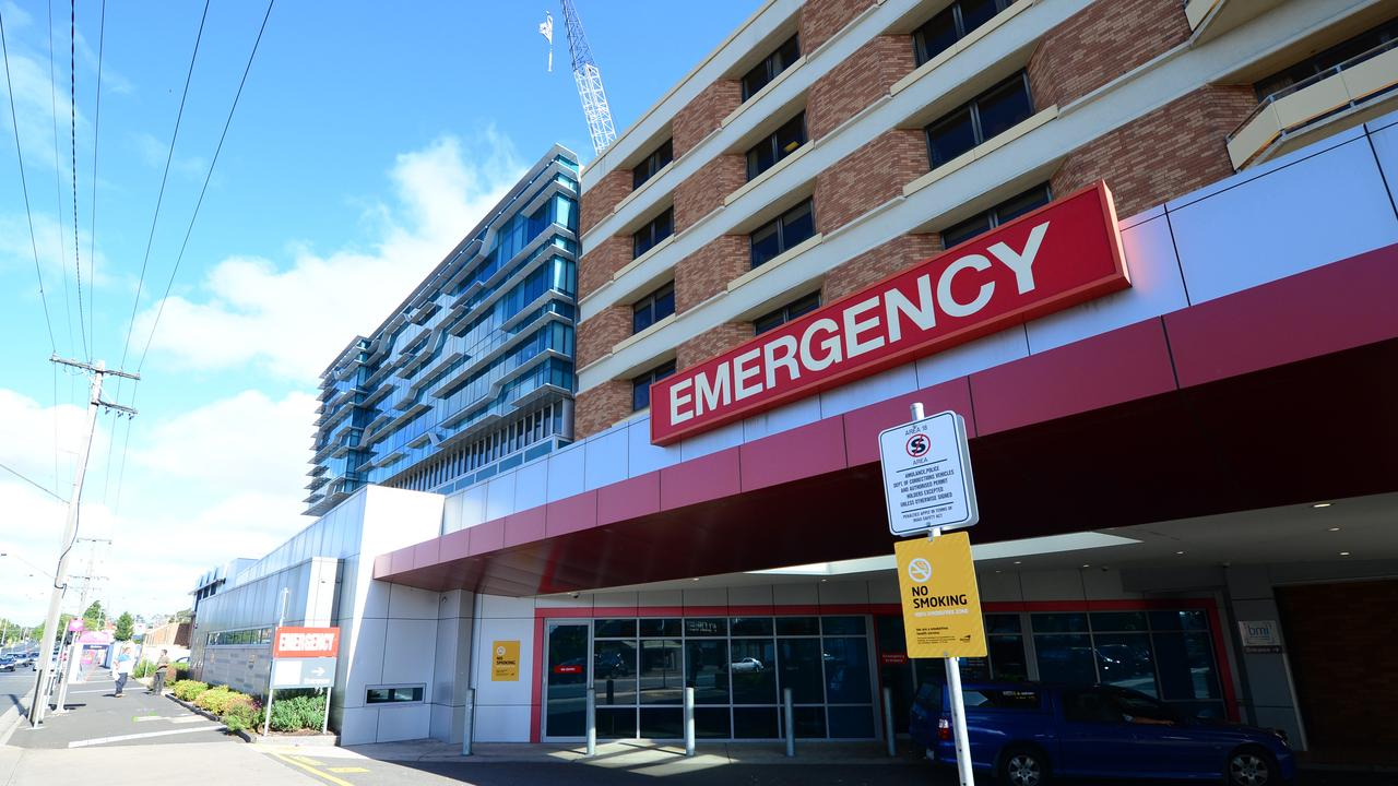 Geelong hospital. Picture: Mitch Bear