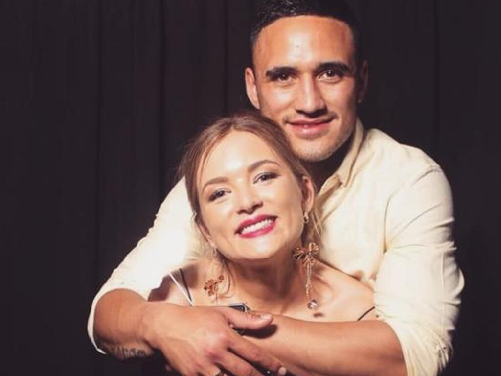 Natalia and Valentine Holmes. Picture: Instagram