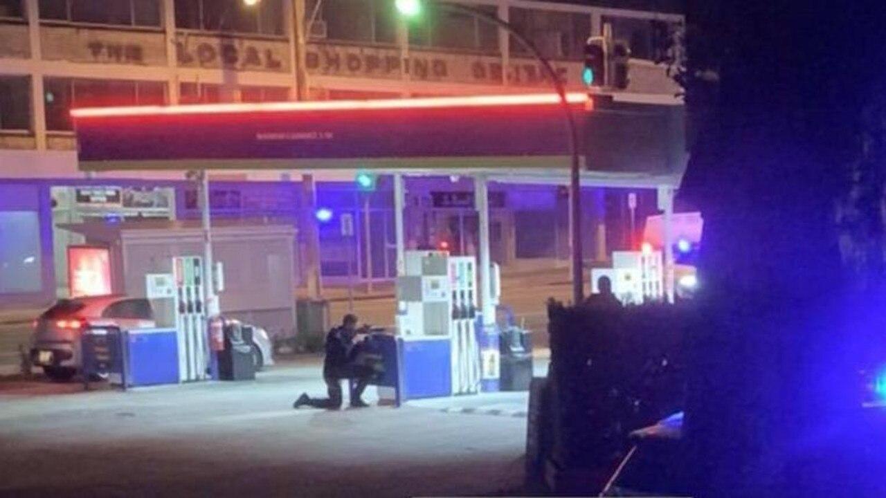 Police on scene. Picture: Joshua Ogilvie (Facebook)