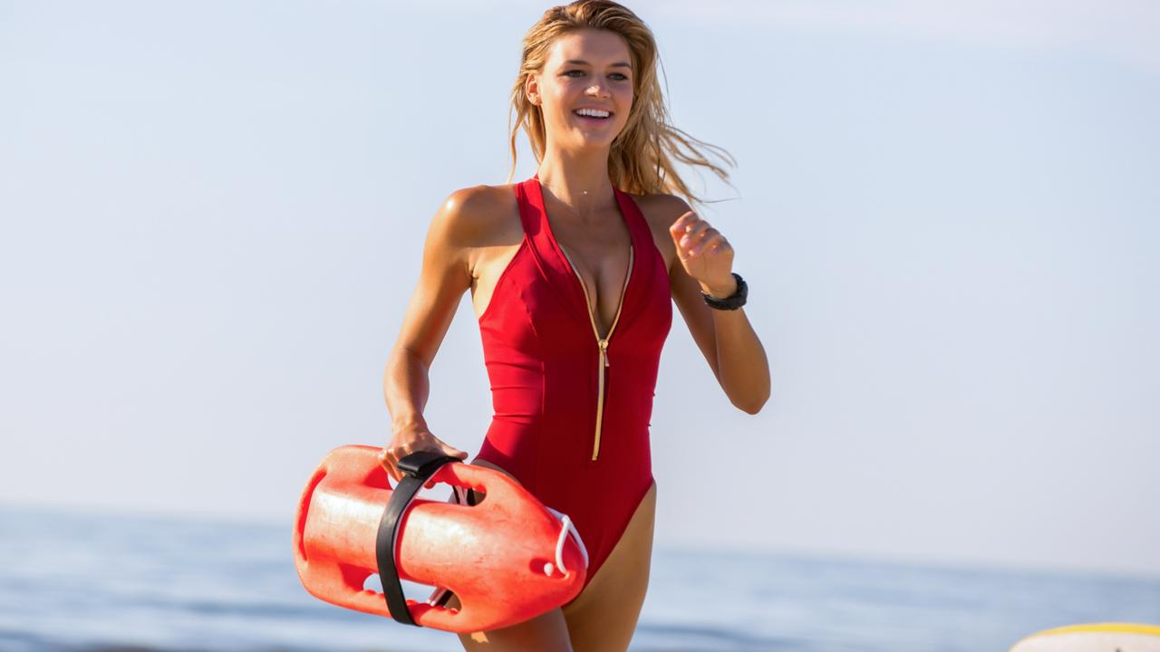 Rohrbach as CJ Parker in the film Baywatch. Picture: Paramount Pictures