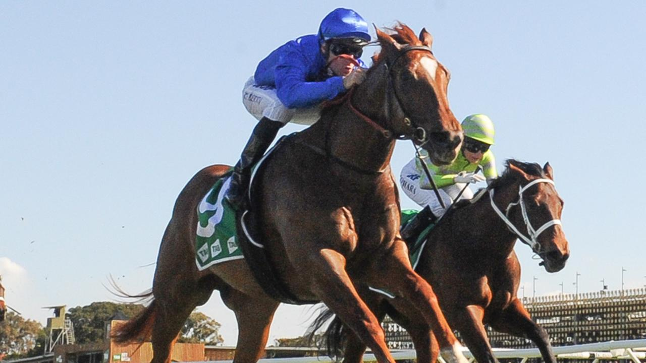 Pandemic charges late to take out the Everest Carnival Handicap at Randwick's Kensington track.