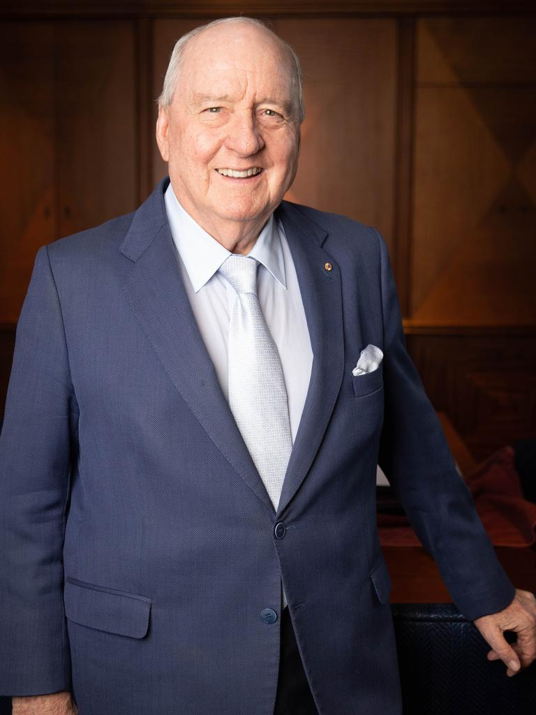 2GB Radio Broadcaster Alan Jones has been reprimanded by his bosses. Picture Renee Nowytarger