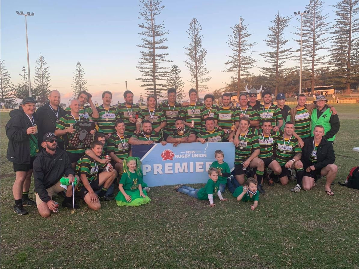 CHAMPIONS: The Hastings Valley Vikings are the 2019 premiers.