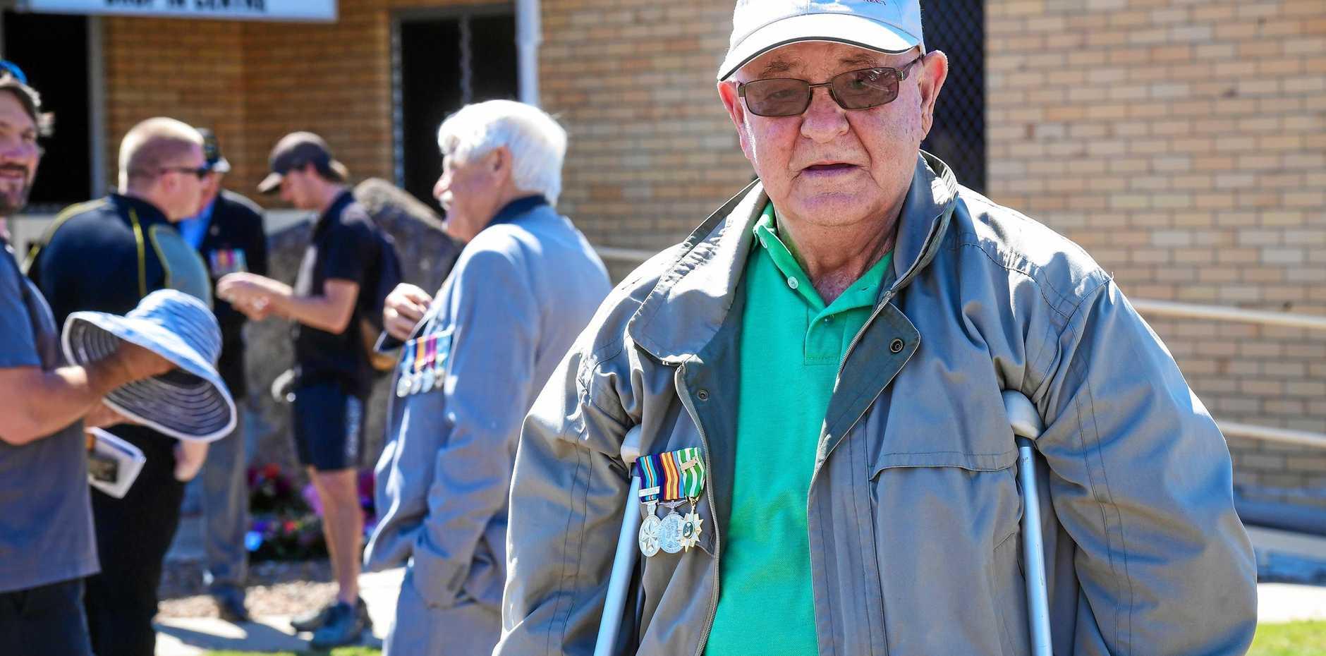 Gordon Salzmann lost his brother in Vietnam.