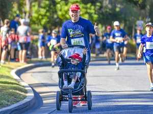 PHOTOS: Pram pushers pound the pavement for fun run