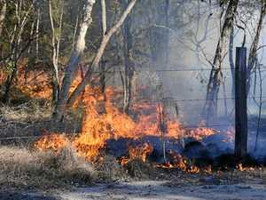 BREAKING: Crews battling blaze at Beelbi Creek