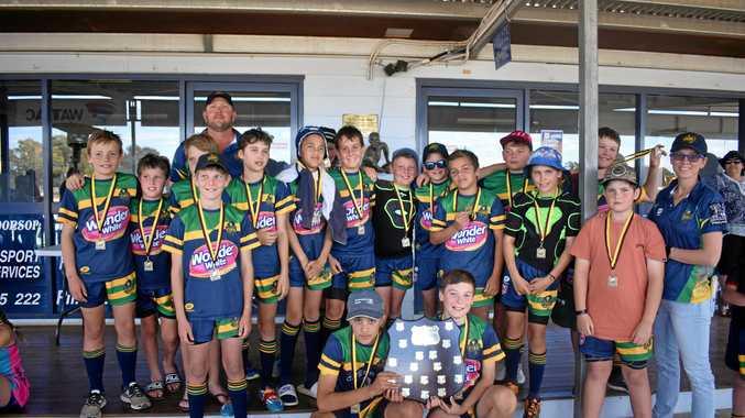Junior rugby league presentations