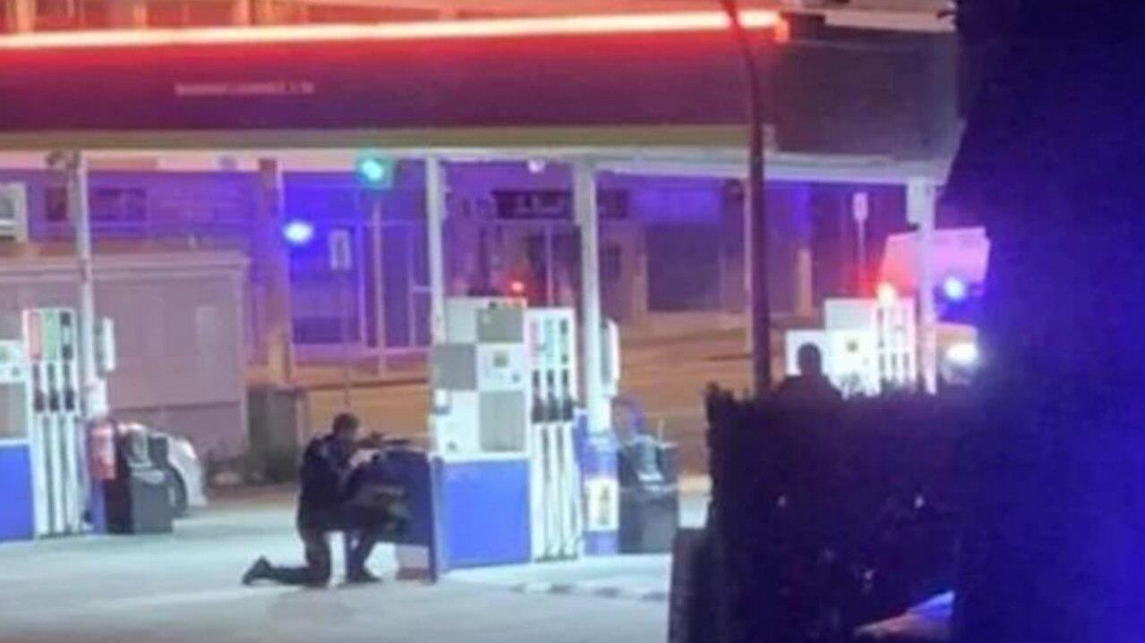 Specialist police and negotiators were on scene at Labrador. Picture: Joshua Ogilvie (Facebook)