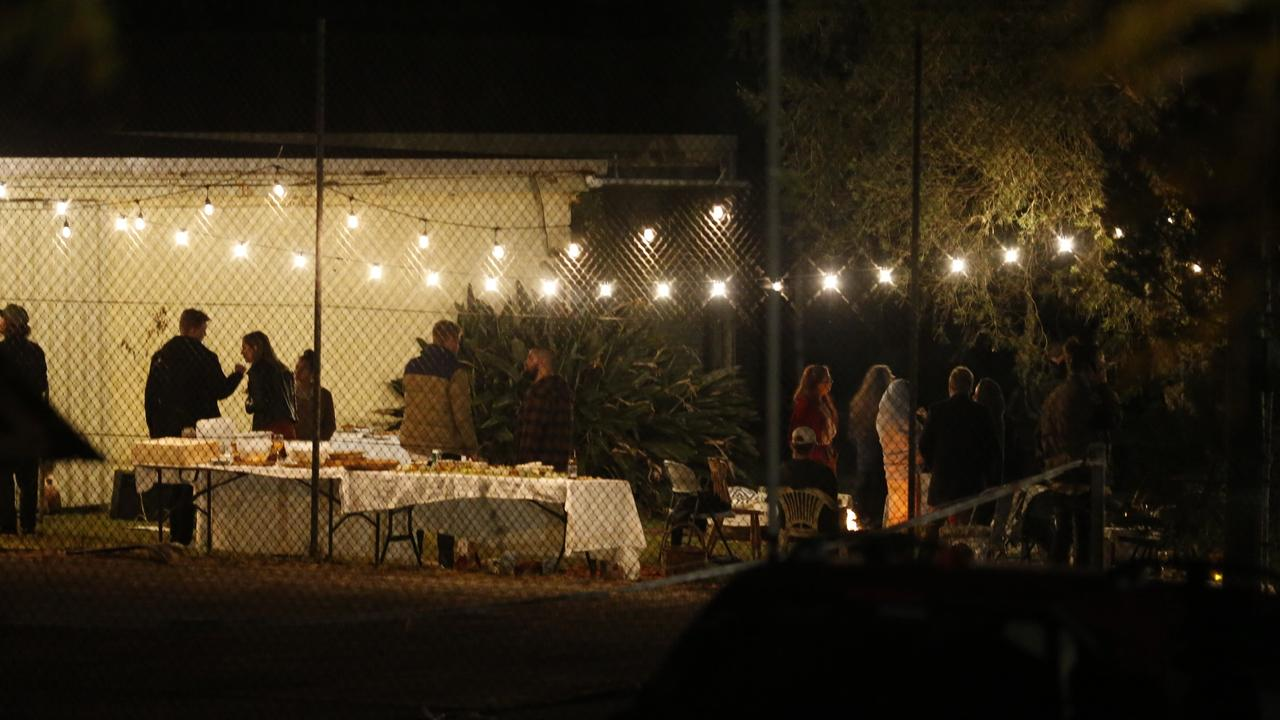 People had gathered on the property for an engagement party. Picture: Steve Tyson