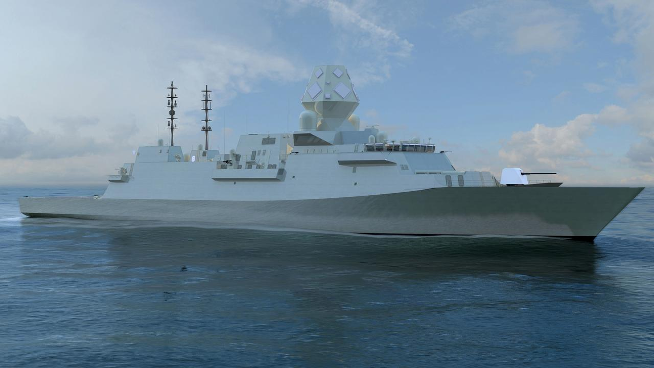 The BAE Systems Type 26 Global Combat warship was chosen for the Future Frigates program.