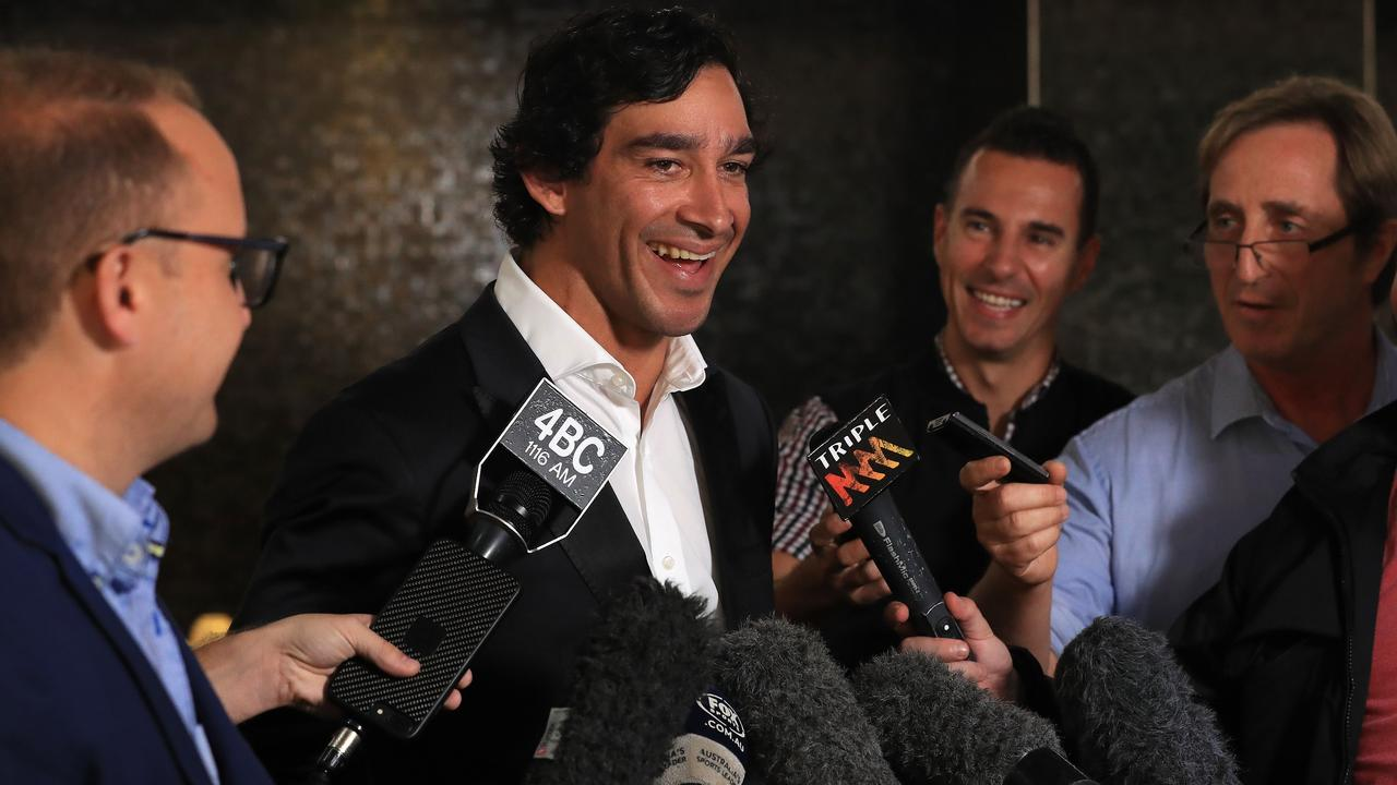 Johnathan Thurston could easily have become a Bronco. Picture: Adam Head