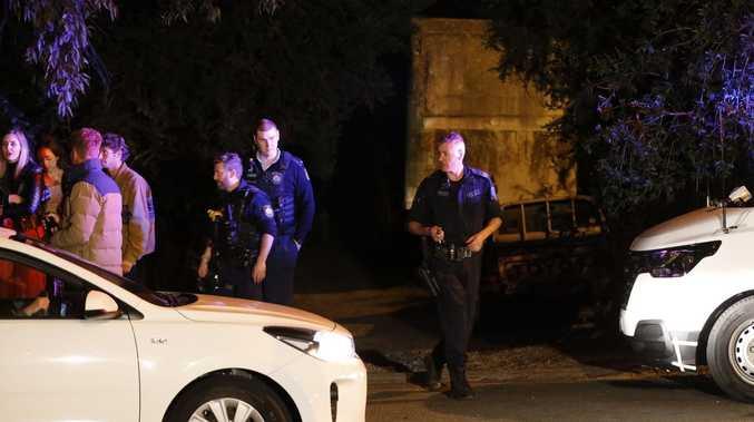 Man 'with gun' dies after being shot by police in leg