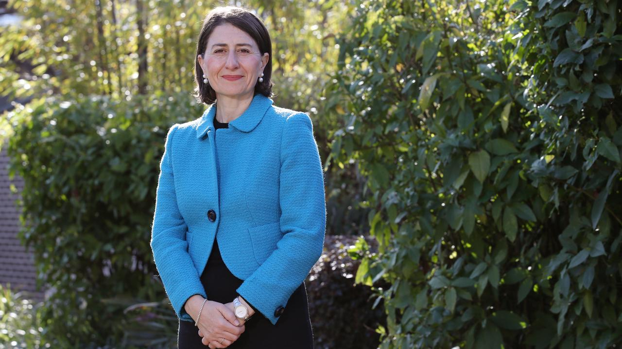 NSW Premier Gladys Berejiklian returned from her overseas trip on Sunday. Picture: David Swift