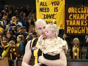 'Cooked': Roughead's emotional farewell