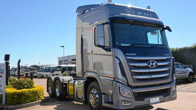 Hyundai bring Xcient to Oz