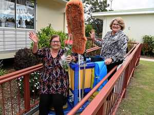 SCHOOL'S OUT: Cleaner retires after 28 years