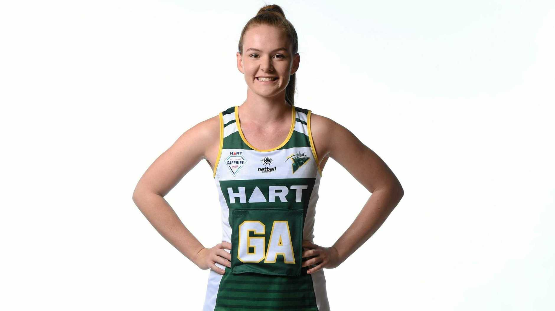 AWESOME EXPERIENCE: Jets netballer Rosie Baker