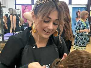 Young stylists compete to be a cut above the rest