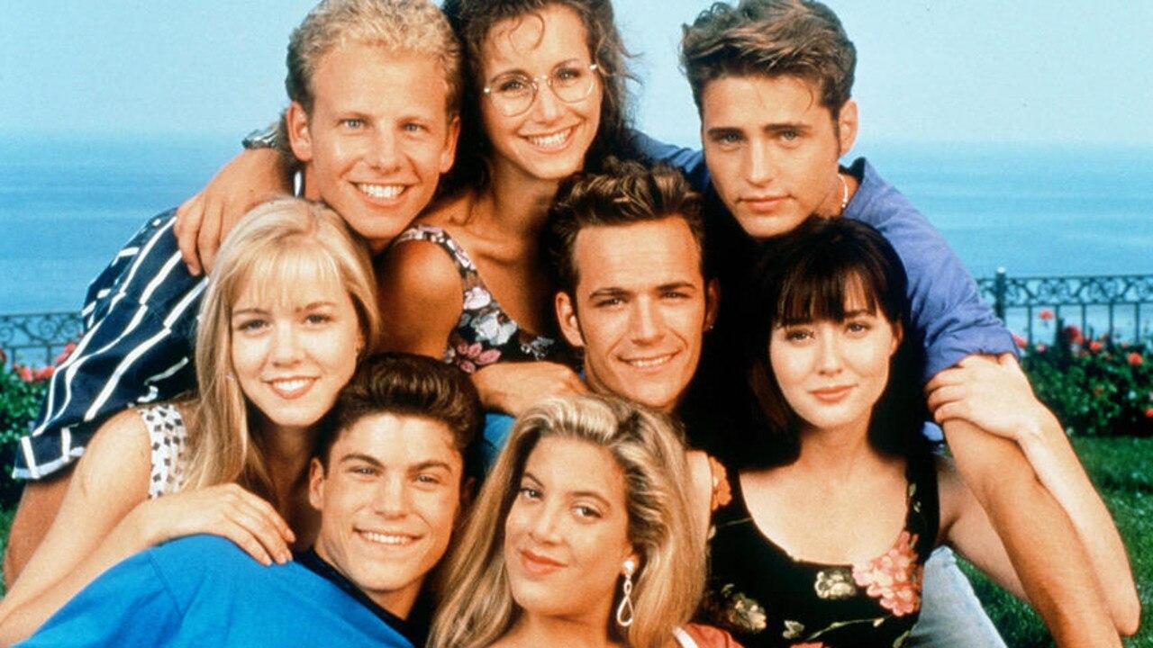 The original cast of 90210.