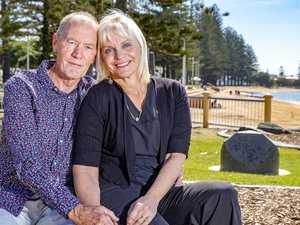 How a quick text saved Mervyn's life